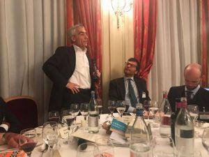 Serata di grande interesse con il presidente dell'INPS Tito Boeri, premio APE 2017